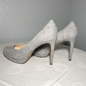 Nine West 4 1/2 Inch Suede Pumps